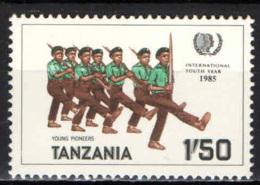 TANZANIA - 1986 - ANNO INTERNAZIONALE DEL FANCIULLO - MNH - Tanzania (1964-...)