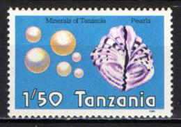 TANZANIA - 1986 - PERLE - MNH - Tanzania (1964-...)