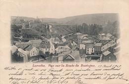 CPA - Belgique - Laroche - Vue Sur La Route De Bastogne - La-Roche-en-Ardenne