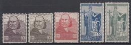 MAN MARINO - Michel - 1924 - Nr 100/04 (MOOI) - MH* - Saint-Marin