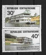 PA - 1976- N°136 à 137**MNH - Bâteaux De Plaisance - Centrafricaine (République)
