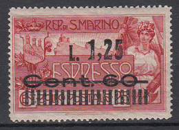 SAN MARINO - Michel - 1927 - Nr 136 - MH* - Timbres Express