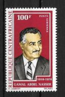 PA - 1972 - N°96**MNH - Nasser - Centrafricaine (République)