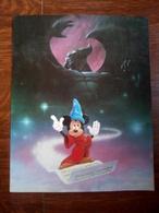 Carte Postale Grand Format: Walt Disney: Fantasia/ Imprimée Aux USA. 25,5 X 20 - Comics