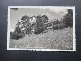 Echtfoto AK 1944 Pensione Moroder Ortisei (1236) Bozen Geschrieben In St. Ulrich - Hotels & Gaststätten