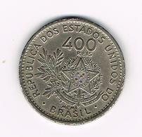 // BRAZILIE  400  REIS MCMI ( 1901 ) - Brésil
