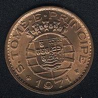 Sao Tome E Principe, 1 Escudo 1971, UNC - Sao Tome And Principe