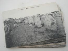 Lot De 40 Cpa Du Morbihan (56) - Dolmens Et Menhirs - Voir Autres Photos - L04 - Dolmen & Menhirs