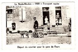 LA NOCLE MAULAIX (58) - 1900 - Transport Rapide - Départ Du Courrier Pour La Gare De Fours - Otros Municipios