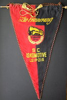 1960s East Germany Lokomotive Leipzig Sport Club Pennant - Other