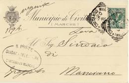 1220 MACERATA MUNICIPIO DI CIVITANOVA MARCHE - 1900-44 Vittorio Emanuele III