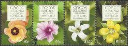 Cocos (Keeling) Island - 2010 - Flora - Flowers - Mint Stamp Set - Cocos (Keeling) Islands