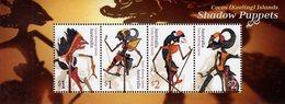 Cocos (Keeling) Islands - 2018 - Shadow Puppets - Mint Souvenir Sheet - Cocos (Keeling) Islands