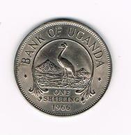 // OEGANDA 1 SHILLING  1966 - Uganda