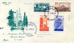 1955 TURCHIA FDC - 1921-... República