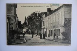 CPA 47 LOT ET GARONNE SAINTE BAZEILLE STE BAZEILLE. La Grande Rue. 1907. - France
