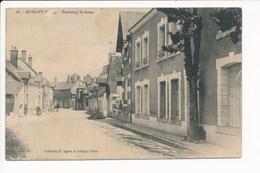Carte D' Aubigny Sur Nère Faubourg Saint Anne ( état Moyen Dommage Car Peu Courante ) - Aubigny Sur Nere