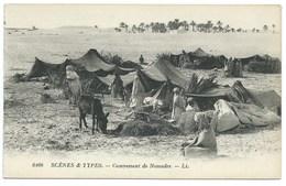 CPA  / CAMPEMENT DE NOMADES / NEUVE - Scenes