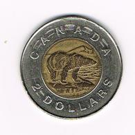 //  CANADA 2  DOLLARS  1996 POLAR BEAR - Canada