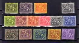 1953-56  Portugal,  Sceau Du Roi Denis, 774 / 788*, (manque Le 30 C) Cote 74 €, - Nuovi