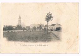 SAINT MARD  77  Entrée Coté église - Autres Communes