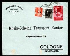 A6188) Belgien Belgium Brief Antwerpen 20.04.35 N. Köln - Briefe U. Dokumente