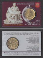 VATICANO 2013  LA PIETA' DI MICHELANGELO  COINCARD - Vatican
