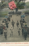 Gold Coast  W.-A. Artillery Division On Expedition . P. Used Accra 1912 No 88 Basel Mission - Ghana - Gold Coast