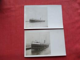 RPPC  Lot Of 2 Cards---  Ref 3318 - Ferries