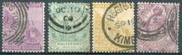 Cap De Bonne Espérance - 1864/1904 - Yt 16 - 46 - 52 - 59 - Oblitérés - África Del Sur (...-1961)