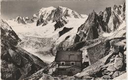 CHAMONIX   -  LE NOUVEAU REFUGE DU COUVERCLE Et LE MASSIF DU MONT BLANC  -   Edition : C.A.P. De Paris   N° 1312 - Chamonix-Mont-Blanc