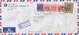 COVER CHINA. HONG KONG EXPRESS REGISTERED COVER TO FRANCE. 14$ 30c.  YUEN LOONG  / 2 - Hong Kong (...-1997)