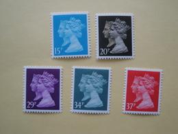 1990  Grande Bretagne Yv 1434/8  ** MNH Série Courante Cote 15.20 € Michel 1240/4  Definitives - 1952-.... (Elizabeth II)