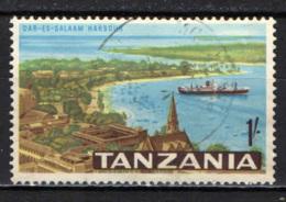 TANZANIA - 1965 - PORTO DI DAR EL SALAAM - USATO - Tanzania (1964-...)