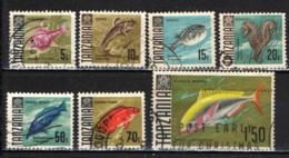 TANZANIA - 1967 - PESCI - FISHES - USATI - Tanzania (1964-...)