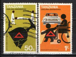 TANZANIA - 1978 - CAMPAGNA PER LA SICUREZZA STRADALE - USATI - Tanzania (1964-...)