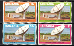 TANZANIA - 1979 - STAZIONE SATELLITARE TERRESTRE DI MWANGE - USATI - Tanzania (1964-...)