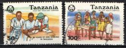 TANZANIA - 1990 - 60° ANNIVERSARIO DELLE RAGAZZE GUIDA - USATI - Tanzania (1964-...)