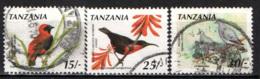 TANZANIA - 1990 - UCCELLI - BIRDS - USATI - Tanzania (1964-...)