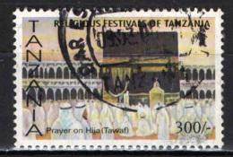 TANZANIA - 2003 - FESTIVITA' RELIGIOSE: MUSSULMANI ALLA MECCA - USATO - Tanzania (1964-...)