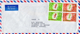 Postal History: St Vincent Cover With Maps Stamps - Geography