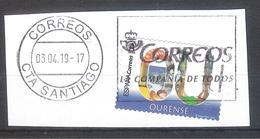 España 2019 - 1 Sello Usado Autoadhesivo. Ourense-Serie Provincias De España-Espagne Spain Spanien - 1931-Today: 2nd Rep - ... Juan Carlos I