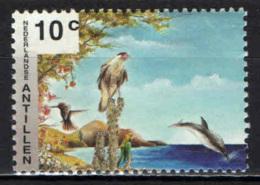 ANTILLE OLANDESI - 1994 - Wildlife: Ware-wara, Blenchi, Parakeet, Dolphin - MNH - Curaçao, Antille Olandesi, Aruba
