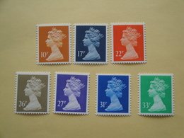 1990  Grande Bretagne Yv 1477/83  ** MNH Série Courante Cote 15.20 € Michel 1283/9  Definitives - Neufs
