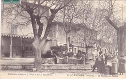 CPA 84 @ CAROMB - La Fontaine Du Portail En 1910 - France