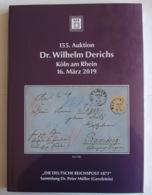 """Derichs Sonderauktion """"Deutsche Reichspost 1871"""" 'Brustschildvorläufer' - Catalogues For Auction Houses"""