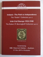 """Köhler, Sonderauktion """"Ireland - The Path To Independence"""" - Catalogues For Auction Houses"""