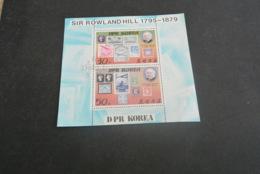 M5863-  Bloc CTO DPR Korea - 1980 - Sir Rowland Hill - Rowland Hill