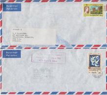 Postal History: St Vincent 4 Covers - St.Vincent (1979-...)