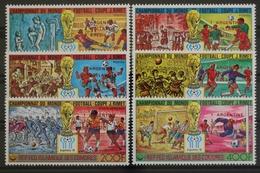 Komoren, MiNr. 478-483 B A, Fußball WM 1978, Postfrisch / MNH - Comores (1975-...)